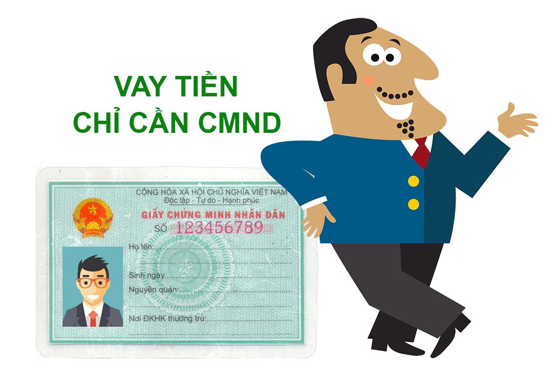 Vay tiền với CMND