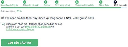 HuongdanvaytienSenMo Hướng dẫn vay tiền SenMo thành công