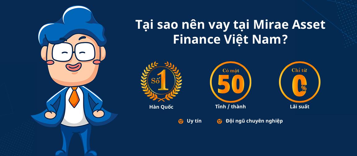 Hướng dẫn vay tiền Mirae Asset có ngay 10 triệu