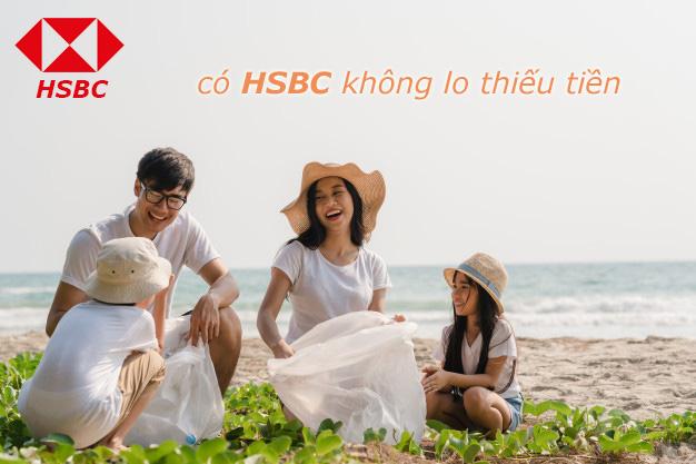 Hướng dẫn vay tiền HSBC tháng 4/2021