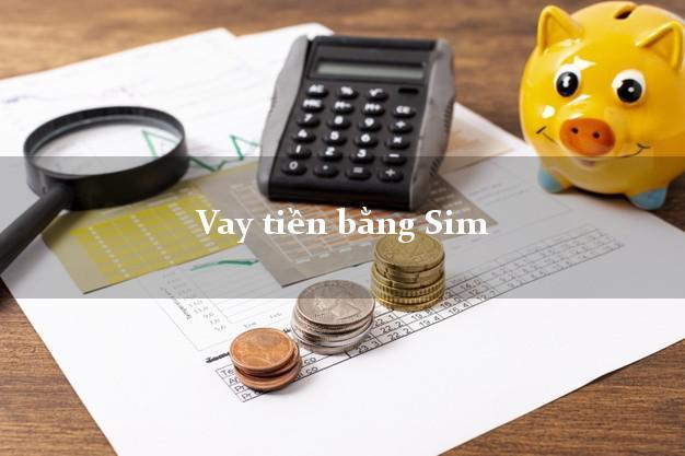 Vay tiền bằng Sim Mới Nhất